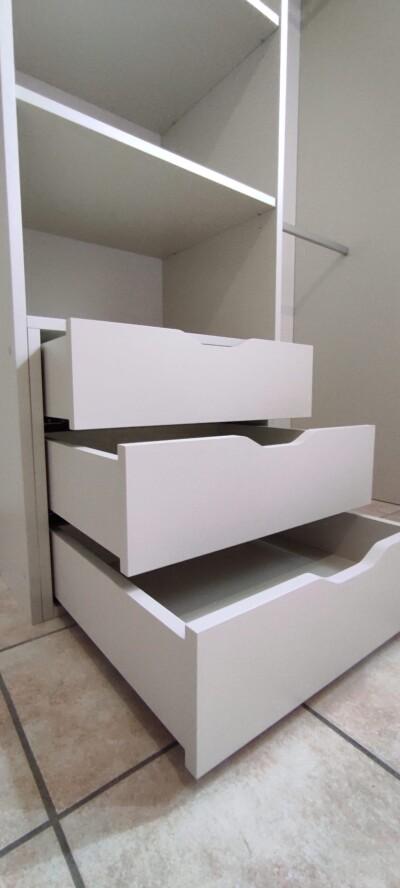 blocs tiroir pour dressing