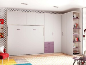 lit armoire avec rangement personnalisable f413 glicerio