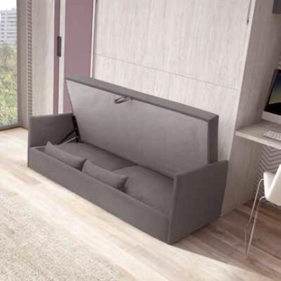 lit escamotable 2 personnes avec canape personnalisable f423 glicerio (2)