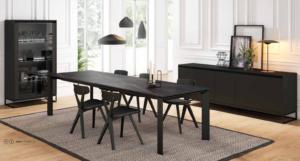 table céramique noire